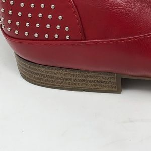 5f4ceec8d Jenny Fairy Shoes - Jenny Fairy Red Studded Oxfords 40